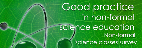 Good practice in non-formal science education