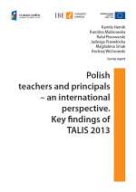 TALIS 2013 - report cover
