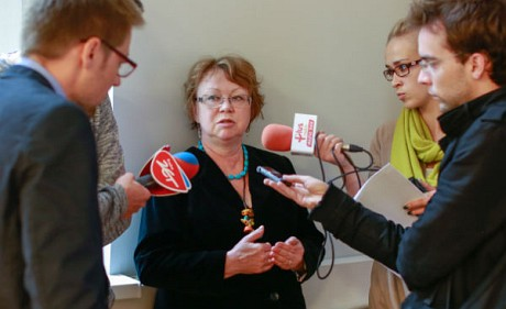 Prof. Anna I. Brzezińska answered journalists' questions